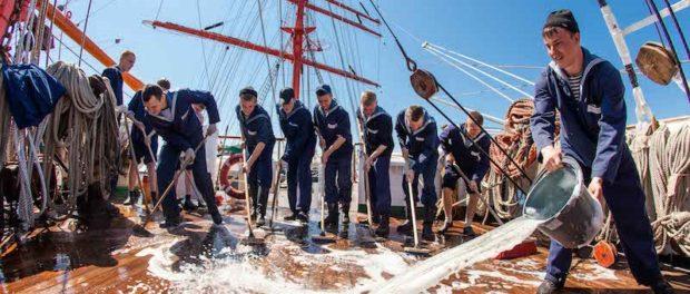 Выставка Музея Мирового океана «Паруса России» открылась в Праге