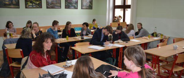 Krajské kolo Olympiády z ruského jazyka pro české žáky a studenty proběhlo na Gymnáziu Ledeč nad Sázavou
