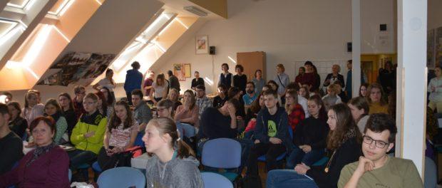 Олимпиада по русскому языку для чешских школьников прошла в городе Пршибрам