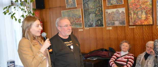 Открытие выставки «Живопись и графика» в РЦНК в Праге