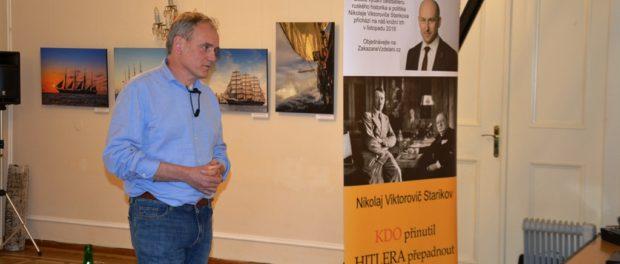 Prezentace českého překladu knihy N. Starikova se konala v RSVK v Praze