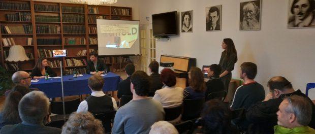 Prezentace českého redakce agentury Sputnik se uskutečnila  v RSVK v Praze