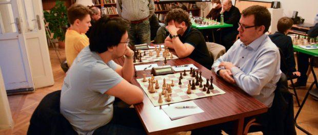 Финальная игра группового Чемпионата Праги по шахматам прошла в РЦНК в Праге