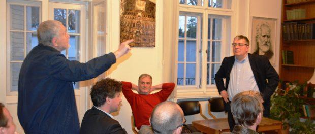 Лекция «Пражская весна. Люди и идеи» прошла в РЦНК в Праге