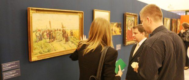 Выставка русской живописи XVIII – XX вв. открылась в чешском городе Наход