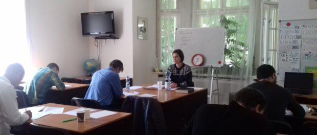 Testování znalostí ruského jazyka jako cizího v RSVK v Praze