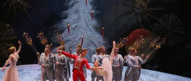 """Прямая трансляция балета """"Щелкунчик"""" из Большого театра"""