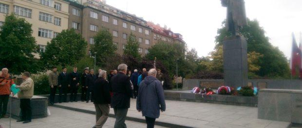 Пражане почтили память освободителя Праги маршала Советского Союза Ивана Степановича Конева