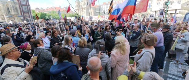 «Бессмертный полк» прошёл в пяти городах Чехии