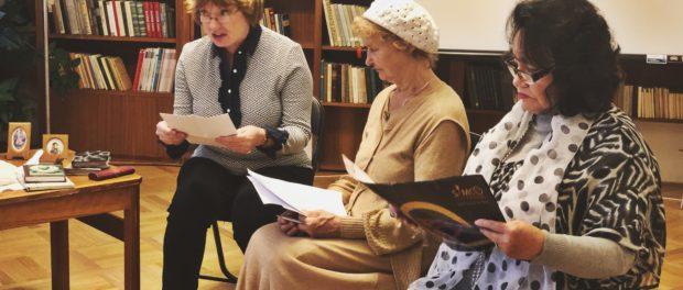 Встреча Литературного клуба прошла в РЦНК в Праге