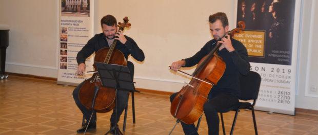 Музыкальная группа The Cello Boys выступила в РЦНК в Праге