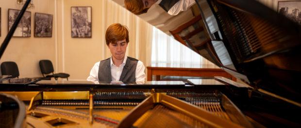 Концерт молодого российского пианиста Ильи Кондратьева прошёл в РЦНК в Праге