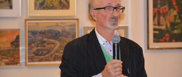 Výstava ruského architekta a malíře Jevgenije Popova   byla zahájena v RSVK v Praze