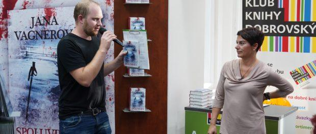 Российская писательница Яна Вагнер представила в Чехии свой новый роман «Кто не спрятался»