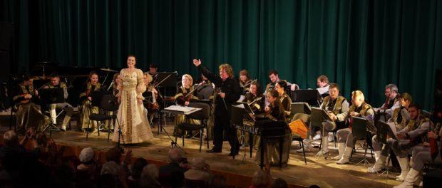 Оркестр русских народных инструментов «Метелица» впервые выступил в Чехии