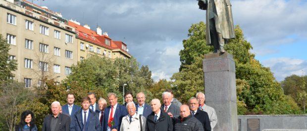 Oslavy 75. výročí Karpatsko-Dukelské operace v Praze