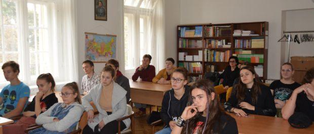 День открытых дверей для чешских студентов гимназии «Арабска» города Праги