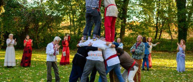 Старославянские игры и хороводы народов мира прошли в РЦНК в Праге
