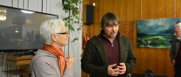 Выставка российского художника Алексея Аверина открылась в РЦНК в Праге