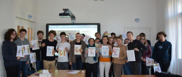 День русского языка и культуры для студентов из Карлинской гимназии г. Прага