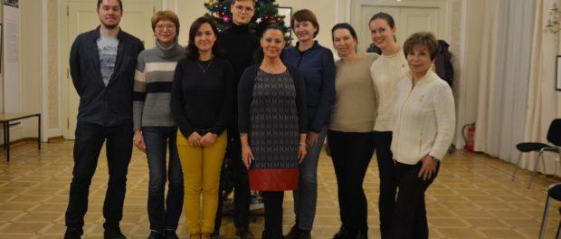 Мастер-класс «Алхимия голоса» прошел в РЦНК в Праге