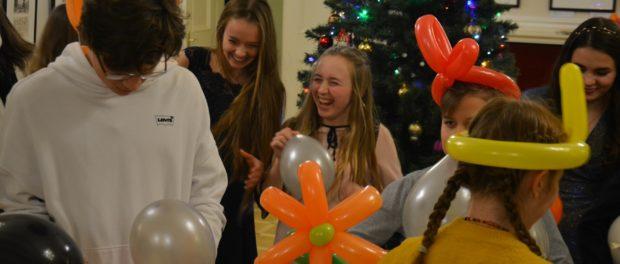 Novoroční setkání Mezinárodního klubu mládežnické a dětské diplomacie v RSVK v Praze
