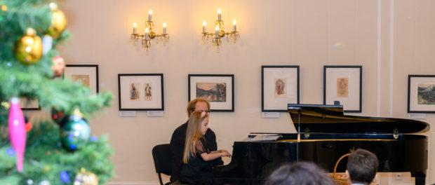 Koncert žáků hudební školy Gradus ad Parnassum  při RSVK v Praze