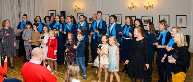 Концерт «Зимний калейдоскоп» прошёл в РЦНК в Праге