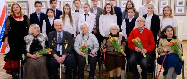 """Koncert """"Pokloníme se těm velkým létům . . . """" k 76. výročí ukončení blokády Leningradu se konal v RSVK v Praze"""