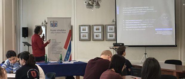 Den ruské vědy oslavili v RSVK v Praze
