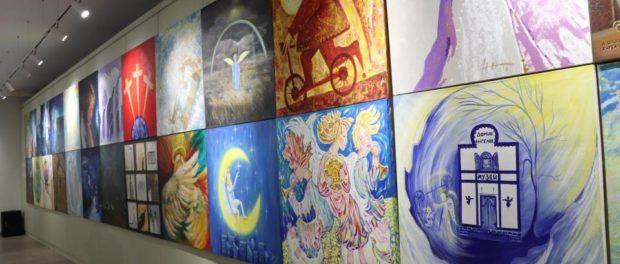"""Zahájení výstavy """"Andělé míru"""