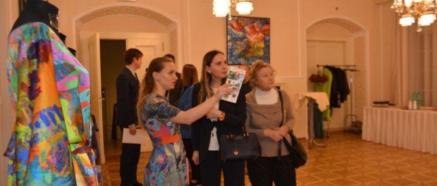 Цветочная выставка «Графика и текстиль» открылась в Праге
