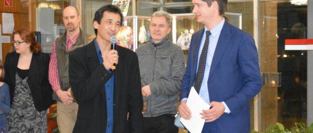 """Výstava """"Porcelán a kobalt"""" byla zahájena v RSVK v Praze"""