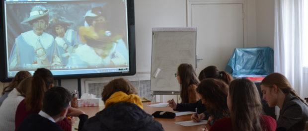 Заключительный тур олимпиады СПбГУ по русскому языку для чешских школьников и студентов прошел в РЦНК в Праге