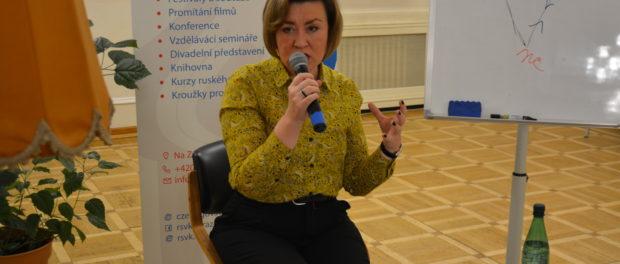 Онлайн-лекция «Психологические игры: закулисье манипуляций» прошла в РНЦК в Праге