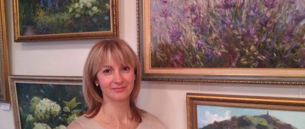 Выставка «Калейдоскоп» художницы Натальи Кахтюриной состоялась в онлайн формате