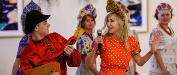 Праздничный виртуальный концерт ансамбля «Русская душа»