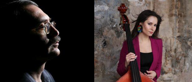 Онлайн Концерт Даниила Крамера (фортепиано) и Дарьи Чернаковой (вокал, контрабас)
