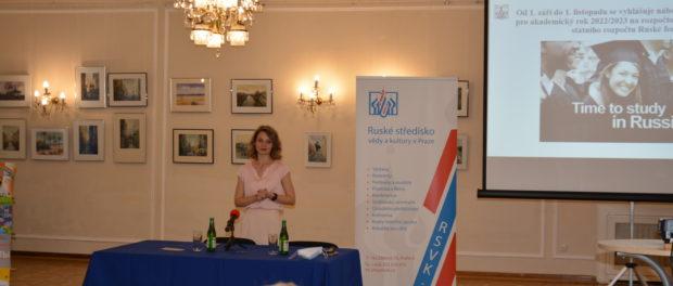Ruský dům v Praze uspořádal Den ruského vzdělávání a Den otevřených dveří v kurzech ruského jazyka