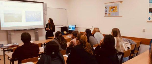 Презентация программ бесплатного образования в России состоялась 5 октября на базе Западочешского университета (г.Плзень)